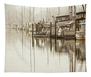 A Canal View Tapestry