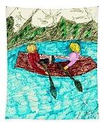 A Canoe Ride Tapestry