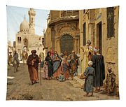 A Captive Audience. Cairo Tapestry