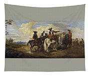 A Cavalry Skirmish Tapestry