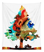 A Certain Kind Of Freedom - Guitar Motorcycle Art Print Tapestry