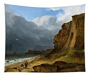 A Coastal Scene Tapestry