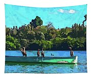 A Cormorant Cruise 2 Tapestry