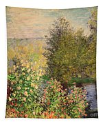 A Corner Of The Garden At Montgeron Tapestry