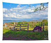 A Costa Rica View Tapestry