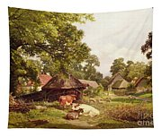 A Cottage Home In Surrey Tapestry
