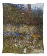 A Cottage Near Godalming Surrey Tapestry