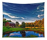 A Country Place Painted Version Tapestry