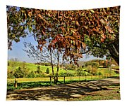 A Country Road Tapestry