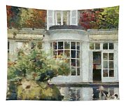 A Cozy House In Brittany Tapestry