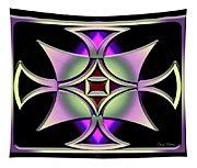 A Dark Splash Of Color 41 Tapestry