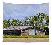 A Deserted Farm Tapestry