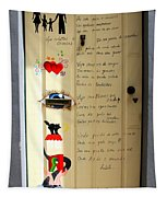 A Door About Family Tapestry