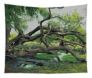 A Dramatic Change Of Perspective Tapestry