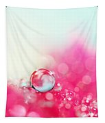 A Drop With Raspberrys And Cream Tapestry