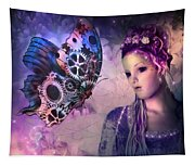 A Fairy Butterfly Kiss Tapestry