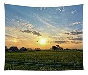 A Farmer's Morning 2 Tapestry