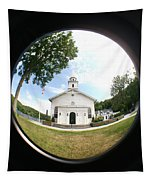A Fish Eye View Tapestry