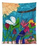 A Garden Adventure Tapestry