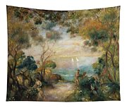 A Garden In Sorrento Tapestry