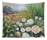 A Garden Romance Tapestry