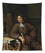 A Gentleman At His Desk Tapestry