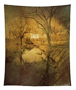 A Golden Winter 2 Tapestry