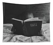 A Good Book At Bedtime Tapestry