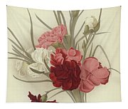 A Group Of Clove Carnations Tapestry