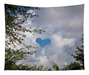 A Heart In The Sky Tapestry