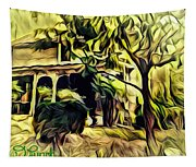 A Home Of Love Tapestry