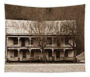 A House From The Past Tapestry