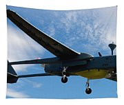 A Hunter Joint Tactical Unmanned Aerial Vehicle Tapestry