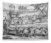 Chariot Of Apollo Tapestry