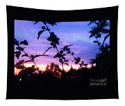 A Lighter Side Of A Sunset Tapestry