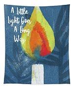 A Little Light- Art By Linda Woods Tapestry