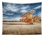 A Lone Tree Tapestry