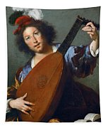 A Lute-player Tapestry