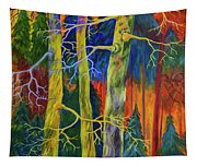 A Magical Forest Tapestry