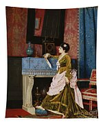 A Moments Reflection Tapestry