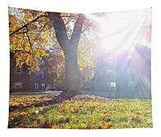 A Morning In Fall Tapestry