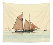 A Morning In Maine Tapestry