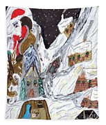 A Mountain Village Tapestry
