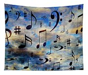 A Musical Storm 3 Tapestry
