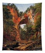 A Natural Bridge In Virginia Tapestry