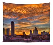 A New Day Atlantic Station Sunrise Tapestry