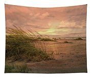 A Painted Sunrise Tapestry