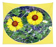 A Pair Of Wild Susans Tapestry