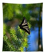A Pale Swallowtail Vertical Tapestry