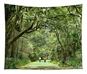 A Peaceful Walk Tapestry